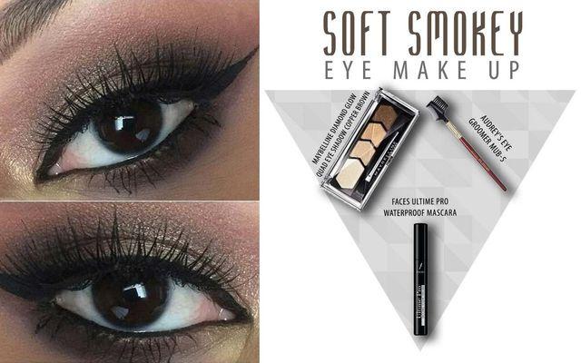 Soft Smokey Eye Make Up