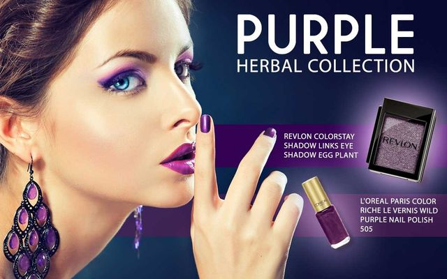 Purple Herbal Collection