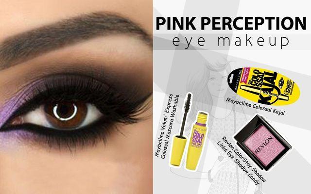 Pink Perception Eye Make Up