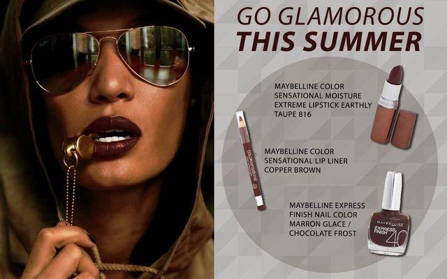 Go Glamorous This Summer