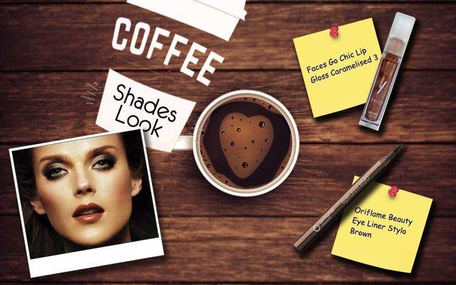 Coffee Shades Look