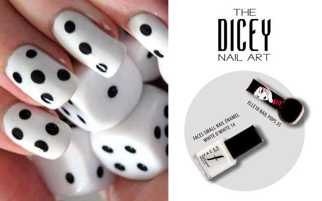 The Dicey Nail Art