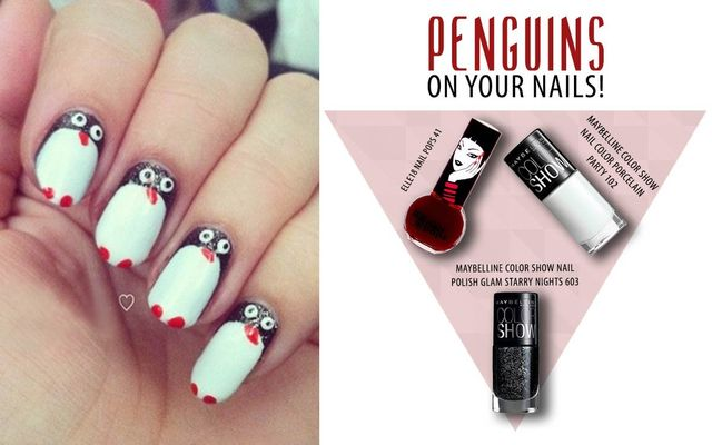 Penguins On Your Nails!f