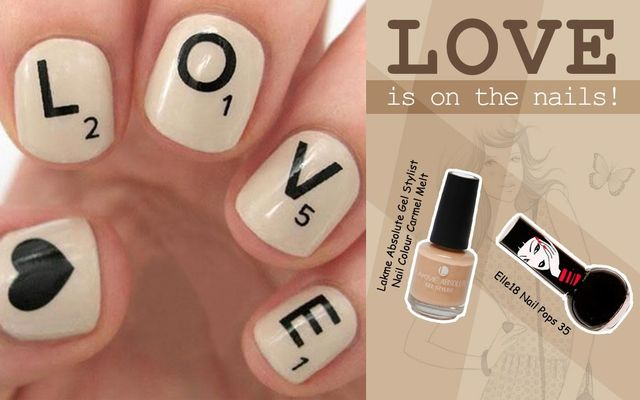 Love Is On The Nails!