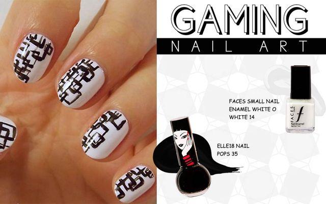 Gaming Nail Art
