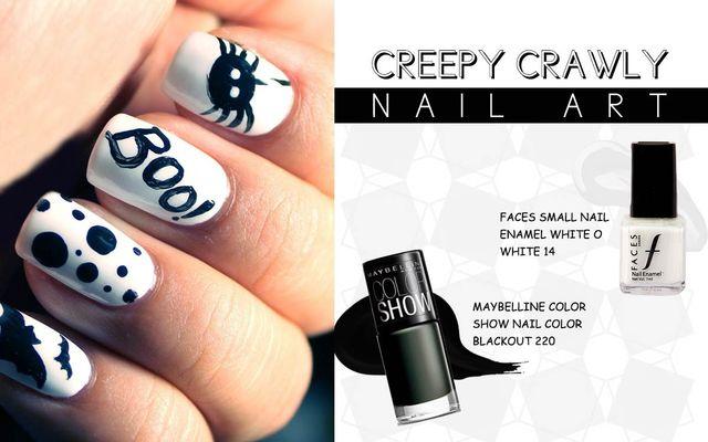 Creepy Crawly Nail Art