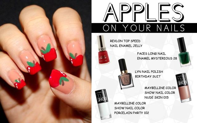 Apples On Your Nails