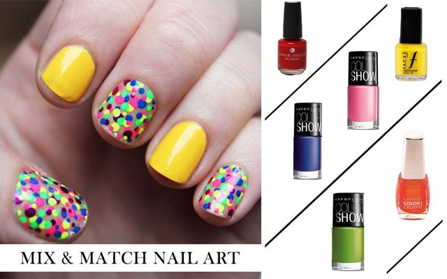 Mix & Match Nail Art