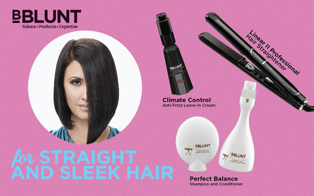 For Straight And Sleek Hair