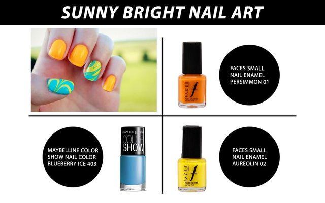 Sunny Bright Nail Art