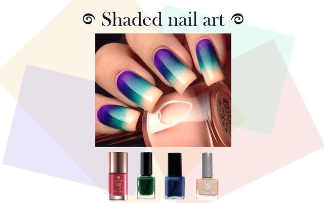 Shaded Nail Art