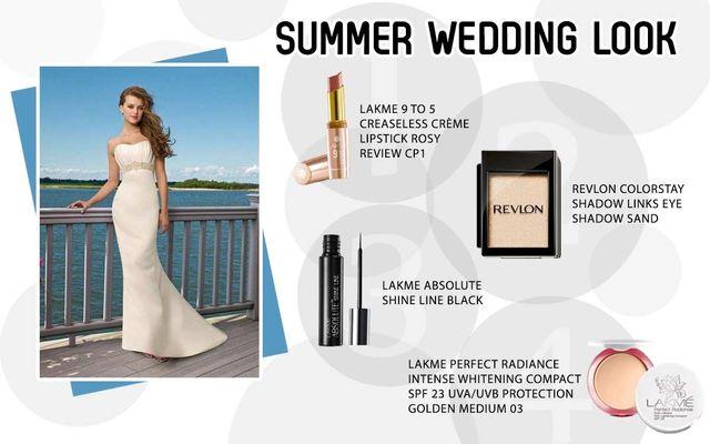 Summer Wedding Look