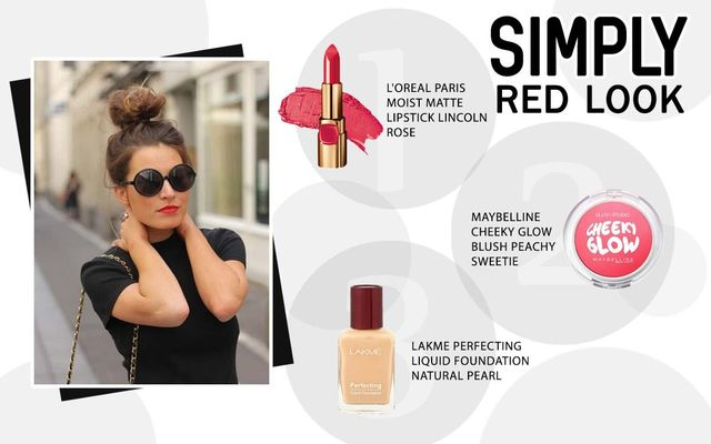 Simply Red Look