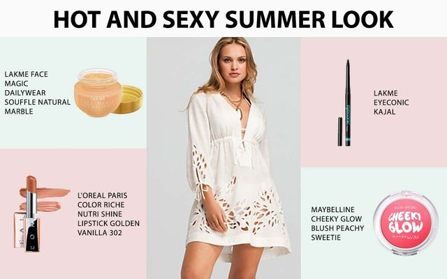 Hot And Sexy Summer Look