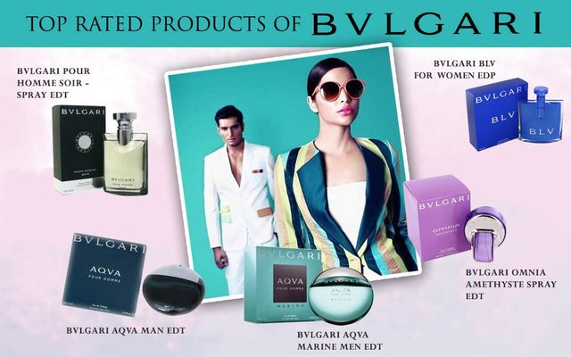 Top Rated Products Of BVLGARI