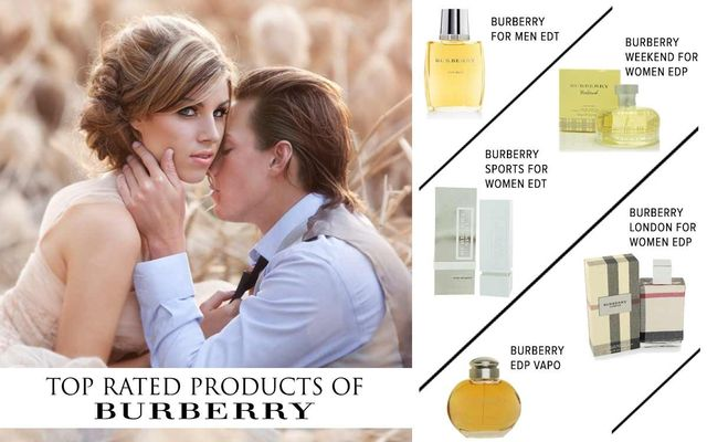 Top Rated Products Of Burberry