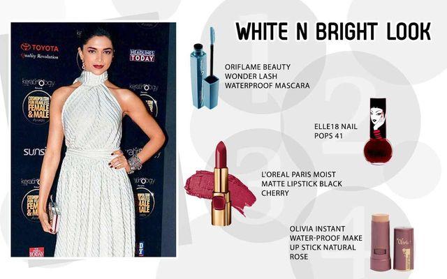 White N Black Look