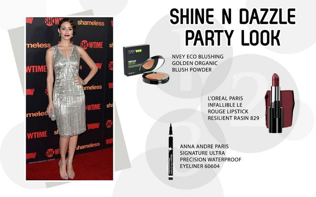 Shine N Dazzle Party Look