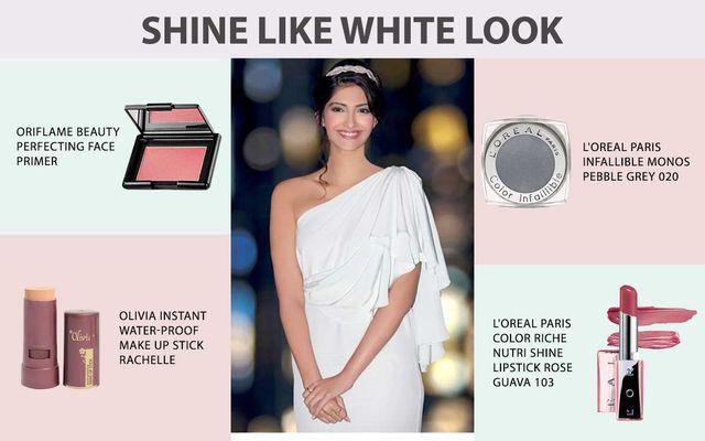 Shine Like White Colour