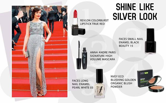 Shine Like Sliver Look
