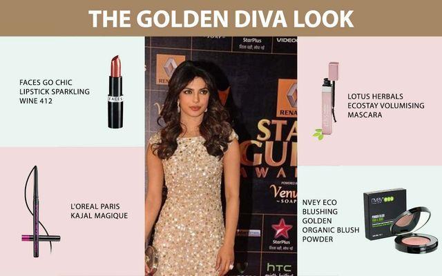 The Golden Diva Look