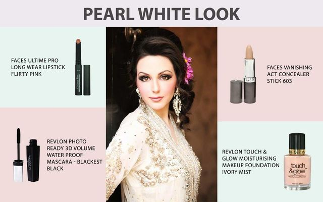 Pearl White Look