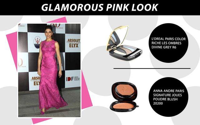 Glamorous Pink Look