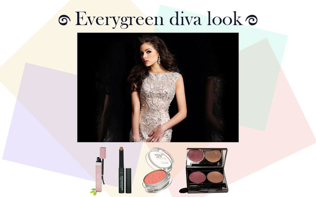 Evergreen Diva Look