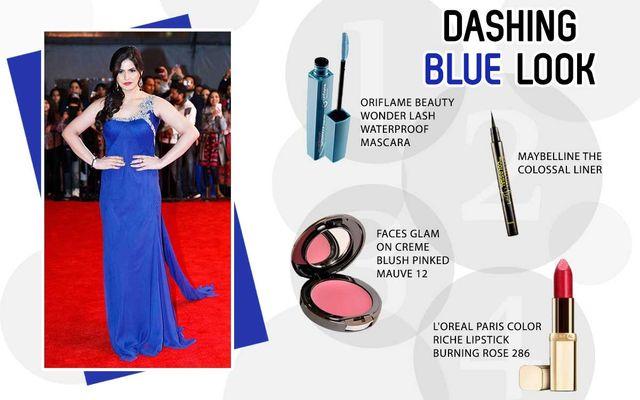 Dashing Blue Look