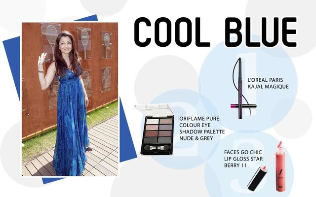 Cool Blue Look