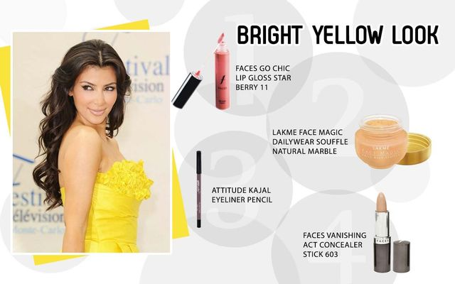 Bright Yellow Look