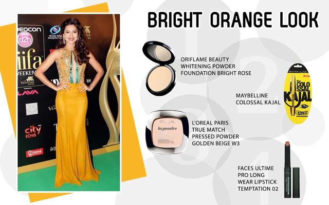 Bright Orange Look