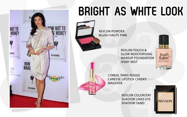 Bright As White Look