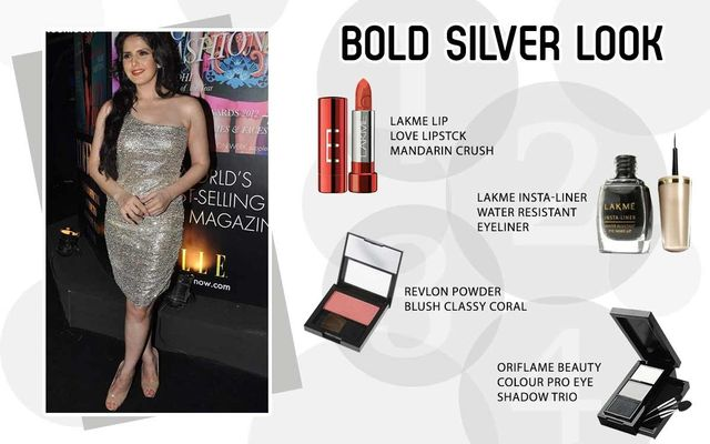 Bold Silver Look