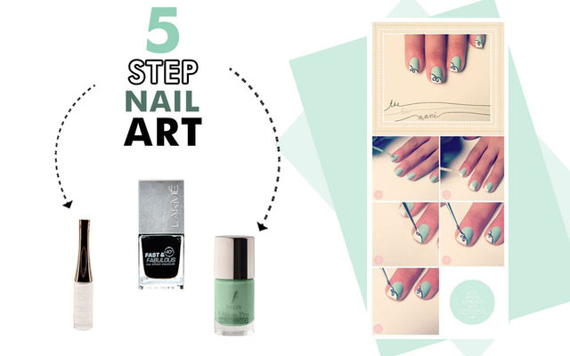 5 Step Nail Art