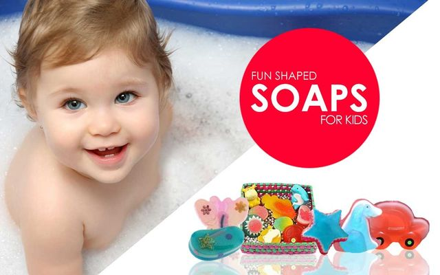 Fun Shaped Soaps For Kids