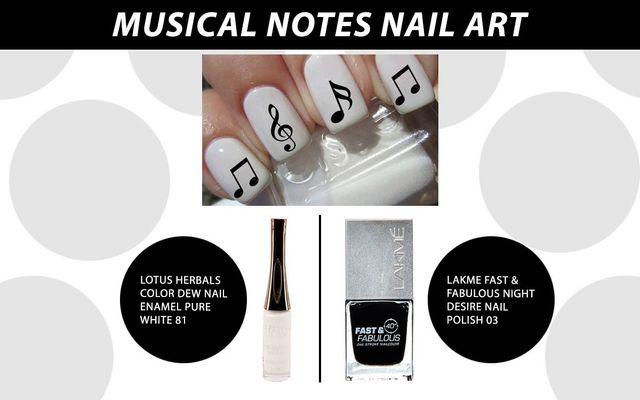 Musical Nails Nail Art