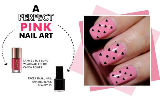 A Perfect Pink Nail Art