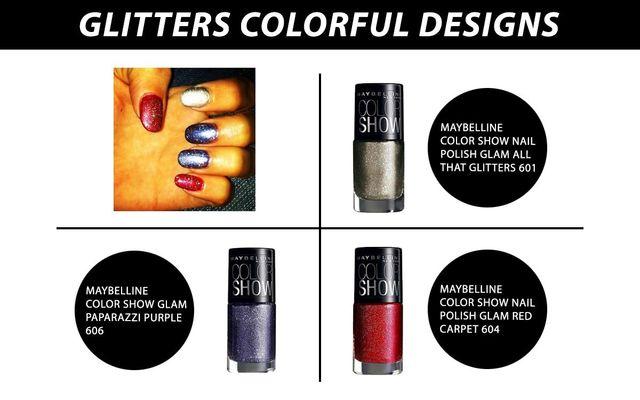 Glitters Colorful Design