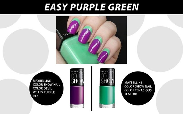 Easy Purple Green