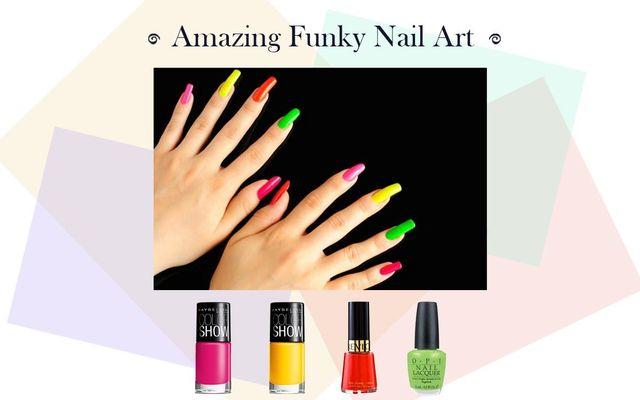 Amazing Funky Nail Art