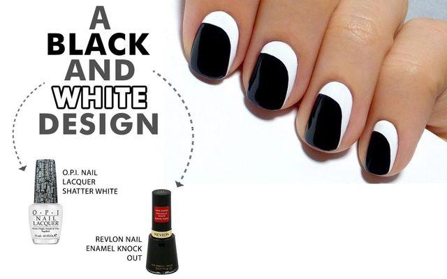 A Black And White Design