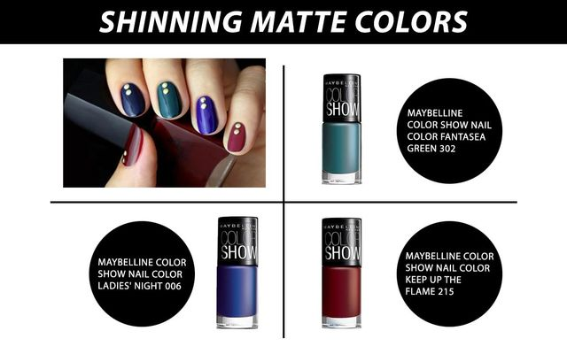 Shinning Matte Colours