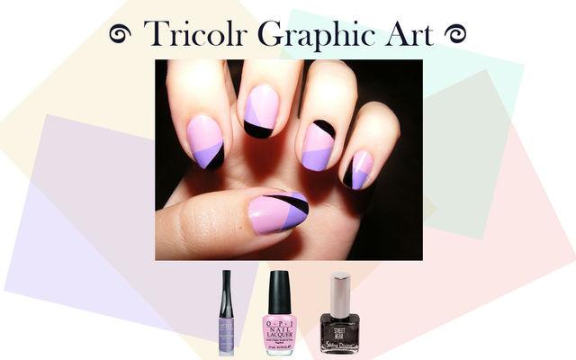 Tricolor Graphic Art