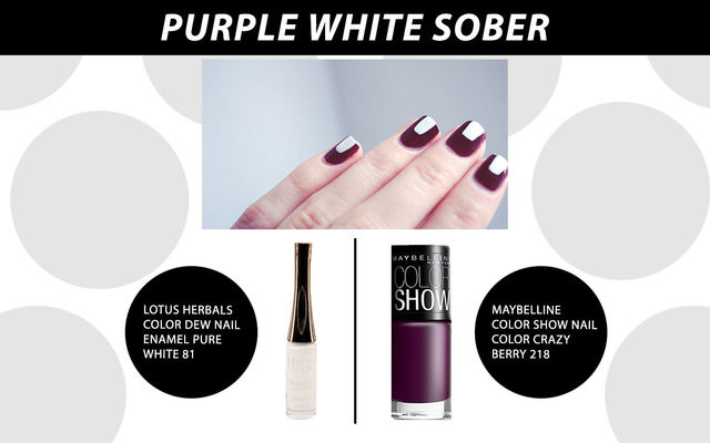 Purple And White Sober