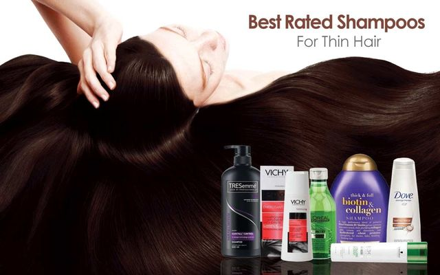 Best Rated Shampoos For Thin Hair
