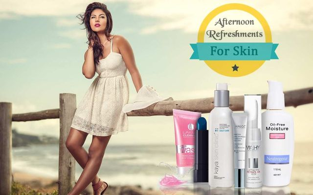 Afternoon Refreshments For Your Skin