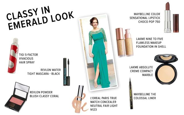 Classy In Emerald Look