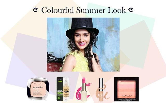 Colourful Summer Look