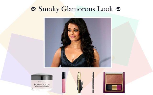 Smoky Glamorous Look